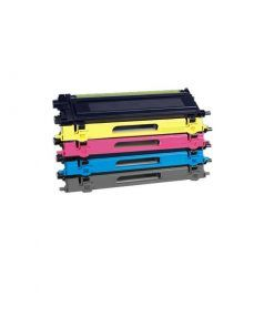 Pack Toner compatible 4 colores para Brother TN230 TN-230 TN 230 BK C M YE