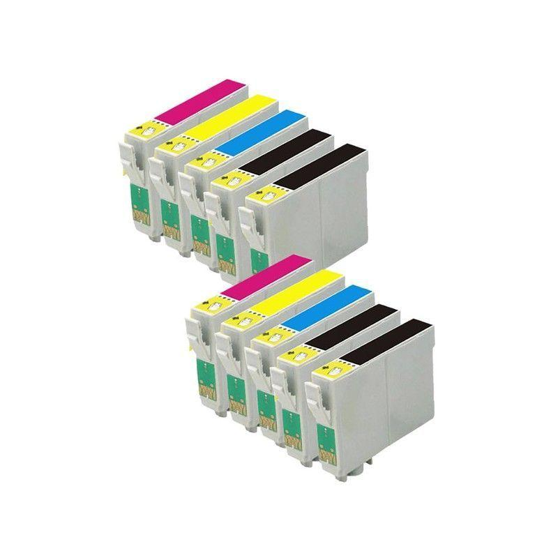 Pack 10 cartuchos 29 XL tinta compatible sustituye a Epson T2996