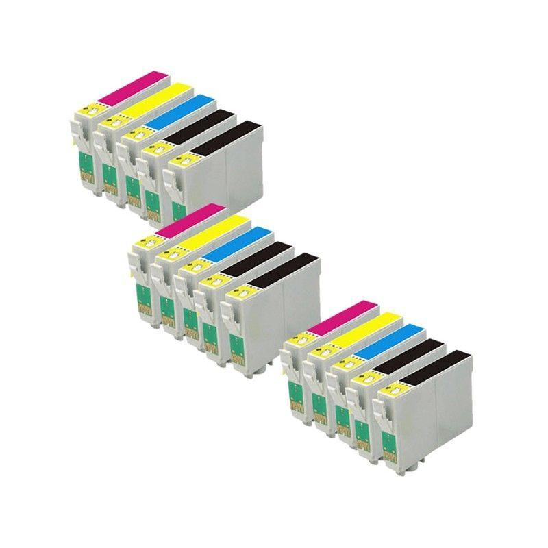 Pack 15 cartuchos 29 XL tinta compatible sustituye a Epson T2996